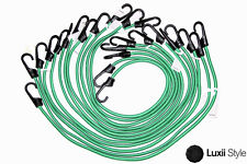 """12pc 36"""" in Bungee Set Cord Elastic Tie Down Straps Hooks Moving Load Securing"""