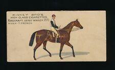 1890 N230 Kinney Brothers FAMOUS RUNNING HORSES (English) -Kingcraft