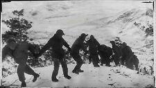US Army Human Chain in Korea War Press Photo