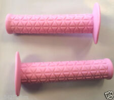 BMX OLD SCHOOL Triangle Grips Pink trek bike GRIP free style bicycle grips