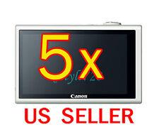 5x Canon PowerShot ELPH 530HS Camera LCD Screen Protector Cover Guard Shield