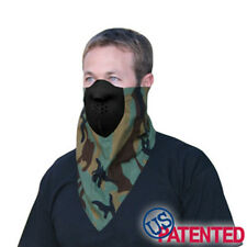 Jungle Military Woodland Camo Neodanna Bandanna Neoprene Face Mask Combo Hunting