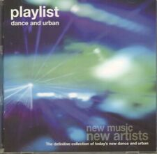 Various Electronica(CD Album)Playlist - Dance And Urban-HMV-DNC08A-UK-VG