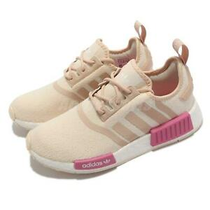 adidas NMD_R1 W BOOST Beige Pink White Women Casual Lifestyle Shoes GZ7998