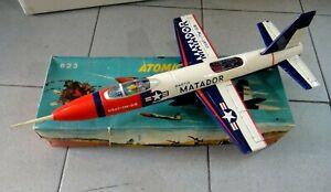 ATOMIC JET FIGHTER - 623 - MARTIN MATADOR - AEROPLANO IN LATTA GIOCATTOLO