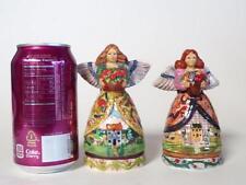 Jim Shore Angels Four Seasons Salt & Pepper Shaker Set in original box