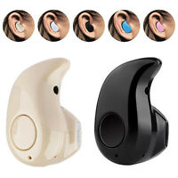 Mini Wireless Bluetooth 4.0 Stereo In-Ear Headset Earphone Earpiece For iPhone