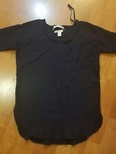 Max Studio 100% Wool Navy Size NOT TRUE TO SIZE S Sweater