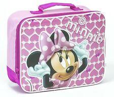 Minnie Mouse Fiambrera Mochila Disney Colegio Empaquetado Almuerzo niña