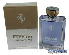 Ferrari Pure Lavender by Ferrari for Men 3.4/3.3 oz EDT Spray New Box