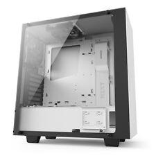 Nzxt Source 340 Elite semi torre para juegos de Vidrio Templado Estuche de PC-Blanco