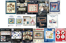 CHOICE: COUNTED CROSS STITCH Needlework Kits by Dimensions • Bucilla • Janlynn