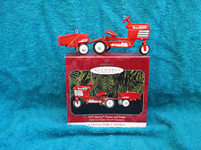 Hallmark Keepsake 1955 Murray Tractor and Trailer Ornament 1998