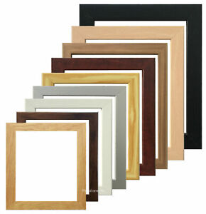Wooden Effect Photo Picture Frame 6 x 8 x 10 Inch For Wall Mount or Desk Stand