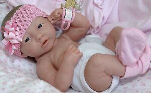 NEW~ Original Precious Preemie Berenguer La Newborn Doll + Extras