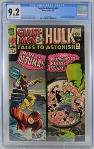 Tales to Astonish #64 CGC 9.2  1965  Leader