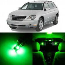 12 x GREEN Interior LED Lights Package For 2004 - 2008 Chrysler Pacifica +TOOL