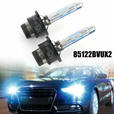 2X Ultra Car Headlight Bulb FOR Philips HID Xenon Blue Vision D2S 6000K White UA