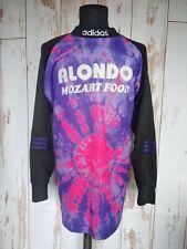 Rare Vintage Adidas Goalkeeper Colourful Jersey Football Shirt Soccer Sz XL