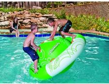 Pool Toys For Kid Rocker Float Inflatable Swimming Spin Water Ride On Lake Party