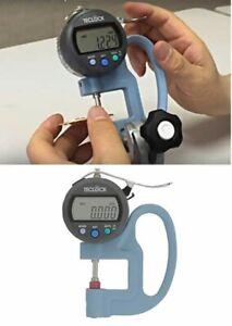 TECLOCK SMD565JL Digital Thickness Gauge Measuring/0-12mm Fast Ship Japan EMS