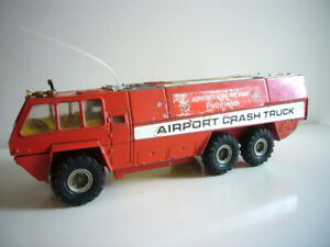 Corgi Major Toys: Chubb Pathfinder airport fire engine, good order, made in GB