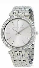New Michael Kors MK3190 Ladies Silver Bracelet Quartz Darci Watch RRP £399