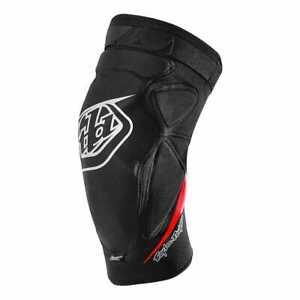 New 2021 Troy Lee Designs Mountain Bike Knee Guards, TLD Raid Knee Guards, Black