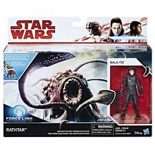 """Star Wars New! Force Link Rathtar and Bala-Tik set 3.75"""" from The Force Awakens"""