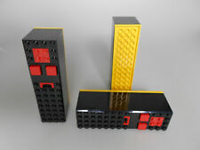 Lego® Technic Zubehör 3x alte Fernbedienung/Batteriekasten schwarz/gelb Neu