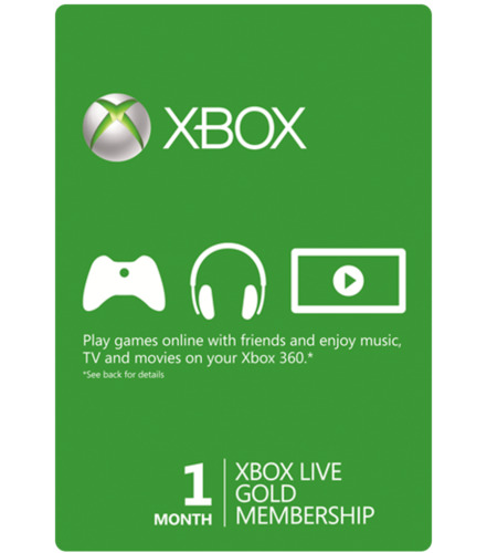 Info 1 Month Xbox Live Gold Membership Travelbon.us