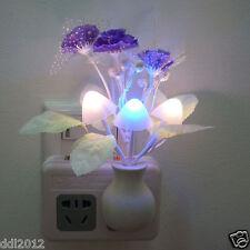 Romantic Colorful LED Mushroom Night Light DreamBed Lamp Home Illumination AU