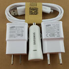 Original OEM micro USB cable+ wall car charger for Samsung Galaxy S4,S3,Note4/2