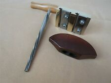 one set VIOLIN PEG HOLE REAMER /PEG SHAVE /pegs assistant handle