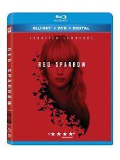 RED SPARROW (Jennifer Lawrence)     - Region free - BLU RAY - Sealed