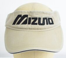 Mizuno Tan Sun Visor Softball Baseball Hat Cap Adjustable