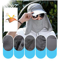 360℃ Fishing Cap Hiking Hat Neck Cover Ear Flap Outdoor UV Sun Protection