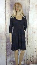 Markenlose Damenkleider mit Rundhals-Ausschnitt für die Freizeit
