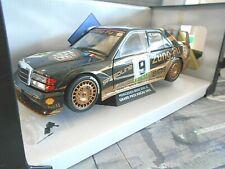 Mercedes Benz 190e 190 2.5-16v evo 2 DTM #9 Ludwig zungfu 1991 macao solido 1:18