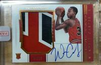 NBA 2018-19 Panini National Treasures Wendell Carter Jr. Rookie Patch Auto 04/25