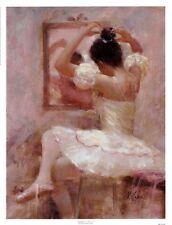 Reflective Moment by Richard Judson Zolan Art Print Ballet Dance Poster 13x17