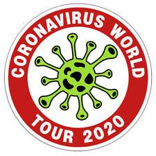 Virus WORLD TOUR 2020 Decal Sticker Label  Sticker Vinyl Decal 3-037