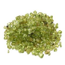 50g Natural Green Olivine Peridot Quartz Crystal Stones Rock Design Accessories