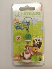 BRAND NEW SPONGEBOB SQUAREPANTS PATRICK FLASHING MOBILE PHONE CHARM KEYRING