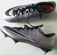 MENS NIKE MERCURIAL METALLIC PURPLE FOOTBALL BOOTS TRAINERS SHOES  UK 6 / EUR 40