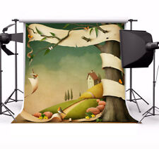 Baby Cartoon Style Photo Background Scene 6x6ft Studio Props Backdrop Show Vinyl