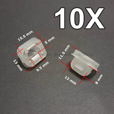 10X Door Insert Wood Trim Strip Grommets for BMW E46 E90 E91 E92 E93 E53 LCI
