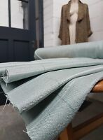 *JUST IN* 2  Metres Laura Ashley Elmore Check DUCK EGG Fabric UPHOLSTERY CURTAIN