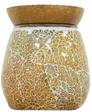 1 X Airpure The Mosaic Gold Electric Wax Tart Warmer With Back Light Boxed