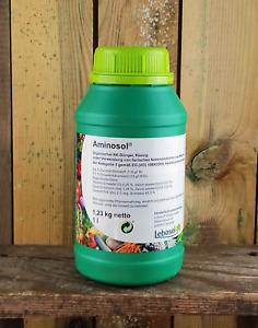 Aminosol 1l Bio organischer Grow Dünger Power Blüh Booster Tomaten Rasen Gemüse